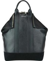 Alexander McQueen - Zipped Monochrome Tote Bag - Lyst