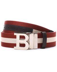 Bally - Logo Buckle Belt - Lyst