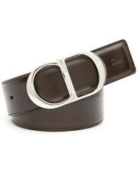 Dior Homme - Buckle Logo Belt - Lyst
