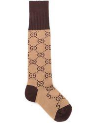 Gucci GG Pattern Cotton Blend Socks