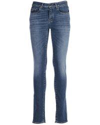 Saint Laurent - Washed Jeans - Lyst