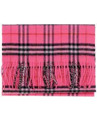 Burberry - House Check Cashmere Scarf - Lyst