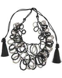Night Market - Circle Chain Necklace - Lyst