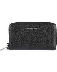 Michael Kors - Rectangular Zip Wallet - Lyst