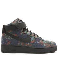 cc348442b7c Nike Air Force 1 High Men s Shoes (high-top Trainers) In Brown in ...