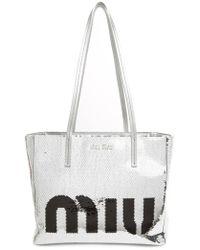Lyst - Women s Miu Miu Totes and shopper bags 1ee0b64fd2468
