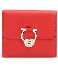 Ferragamo - Embellished Wallet - Lyst