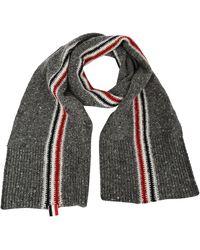 Thom Browne - Striped Knit Scarf - Lyst