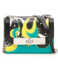 a2cf96400b Lyst - Dolce   Gabbana Lily Twist Crossbody Bag in Brown
