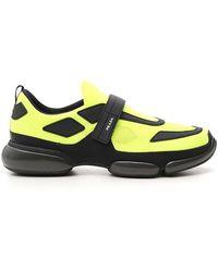 Prada - Cloudbust Mesh Sneakers - Lyst