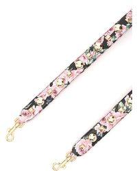 Dolce & Gabbana - Studded Floral Bag Strap - Lyst