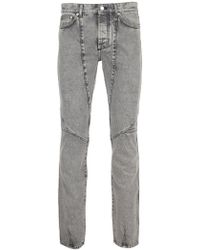 Givenchy - Washed Biker Jeans - Lyst