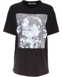 Valentino - Moonlover Printed T-shirt - Lyst