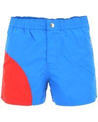 fc11264c39 Onia Calder Two-tone Swim Trunks in Blue for Men - Lyst