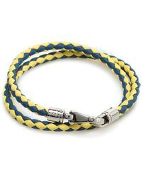 Tod's - Braided Leather Wrap Bracelet - Lyst
