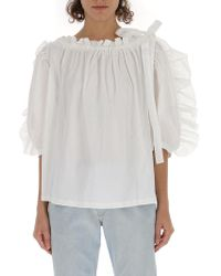 See By Chloé Pleated Front Blouse