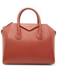 Lyst - Givenchy  antigona  Shopper Tote in Brown 6479cc3008