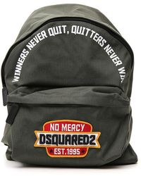 DSquared² - No Mercy Embroidered Logo Backpack - Lyst