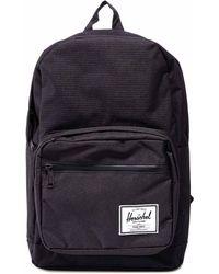 Herschel Supply Co. Pop Quiz Logo Patch Backpack - Black