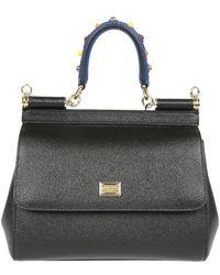 Dolce & Gabbana - Mini Sicily Tote Bag - Lyst