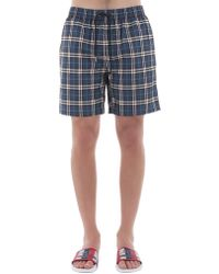 Burberry - Vintage Checked Swimming Shorts - Lyst
