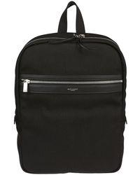 Saint Laurent - Zipped Backpack - Lyst