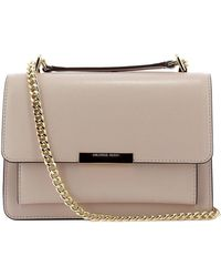 a0900c2ab42 Lyst - MICHAEL Michael Kors Sloan Large Chain Shoulder Bag in Pink