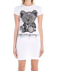 Philipp Plein - Teddy Print T-shirt - Lyst