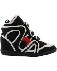 Isabel Marant - Buckee Sporty Wedge Sneakers - Lyst