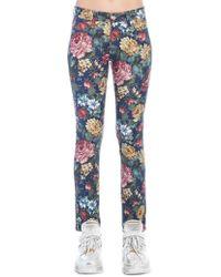 Junya Watanabe - Floral Skinny Jeans - Lyst