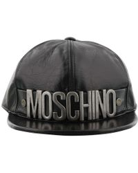Moschino - Logo Plaque Cap - Lyst
