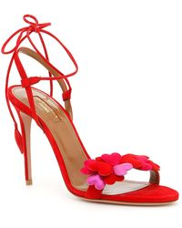 Aquazzura - Happy Hearts Sandals - Lyst