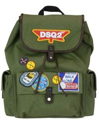 DSquared² - Dsq2 Canvas Backpack - Lyst