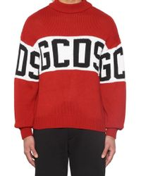 Gcds - Stripe Ribbed Sweater - Lyst