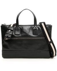 Bally - Top Handle Briefcase - Lyst