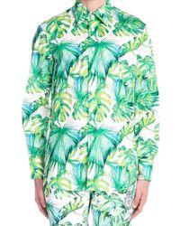 Billionaire - Printed Shirt - Lyst