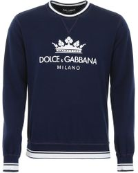 Dolce & Gabbana - Logo Sweatshirt - Lyst