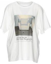 MM6 by Maison Martin Margiela - Polaroid Photo Print T-shirt - Lyst