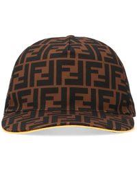 ba8fb8081b4b3 Fendi Hat in Black for Men - Lyst