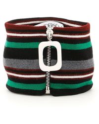JW Anderson - Zip-up Striped Neckband - Lyst