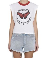 Off-White c/o Virgil Abloh - Butterfly Tank Top - Lyst