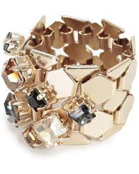 Lanvin - Crystal Embellished Ring - Lyst
