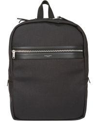 Saint Laurent - Black City Laptop Backpack - Lyst
