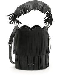 Miu Miu - Fringed Bucket Bag - Lyst