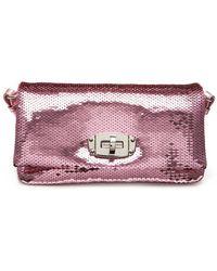 Miu Miu - Sequined Crystal Shoulder Bag - Lyst