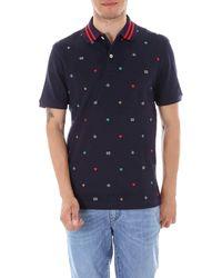 1de154f30704 Gucci Polo Shirt in Black for Men - Lyst