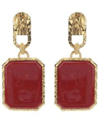 Balenciaga - Stone Earrings - Lyst