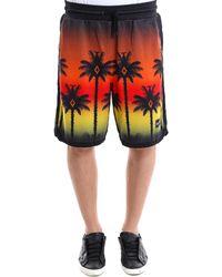 Marcelo Burlon - Tropical Sunset Shorts - Lyst