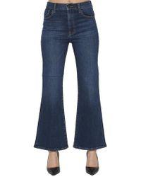 J Brand - Carolina High Rise Jeans - Lyst