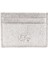 Dolce & Gabbana - Logo Plaque Card Holder - Lyst